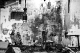 The Lightbulb left behind