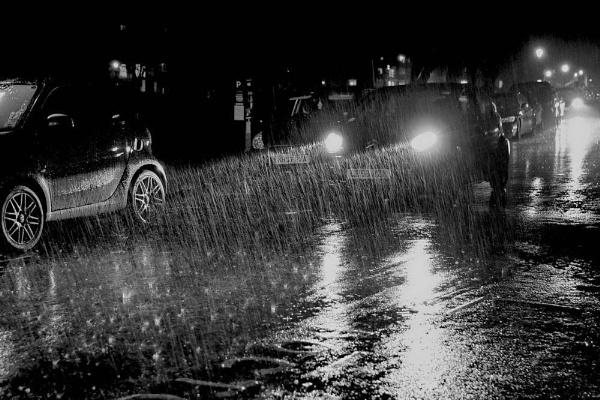 rainy night by jeakmalt