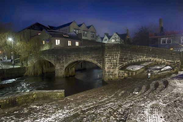 The Packhorse Bridge Hebden Bridge by iangilmour