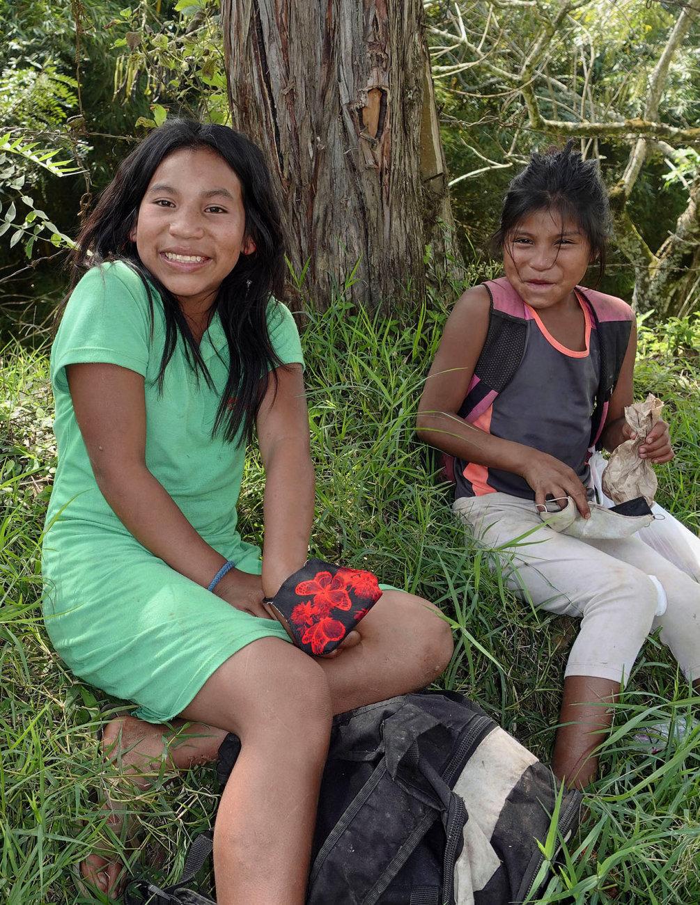 Two Embera Girls