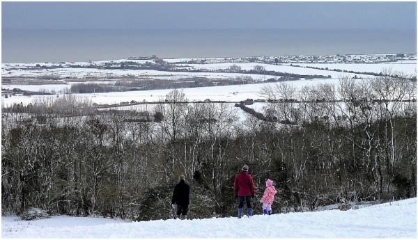 Looking To The Romney Marsh by ZenTony
