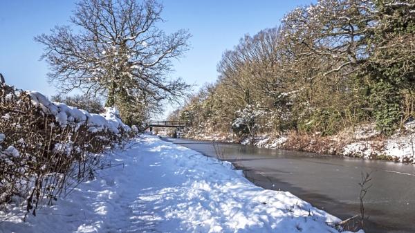 Snowy Canal II by Bore07TM