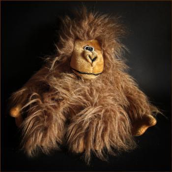 orangutan in captivity (see v.1 for mono)