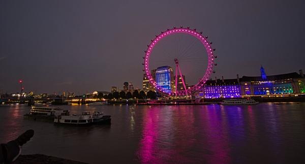 London Eye Reflections by Adrian57
