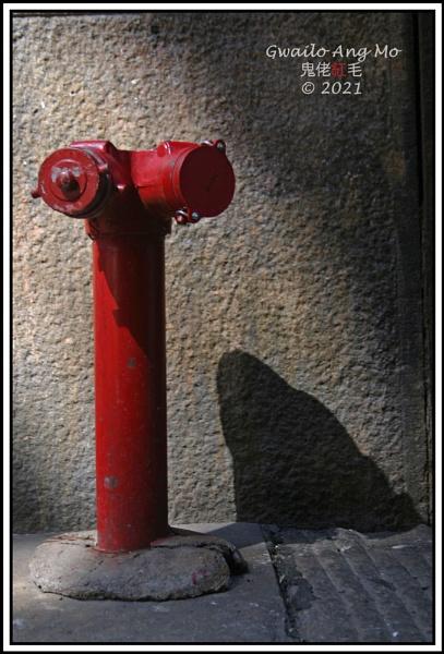 Spooky hydrant by GwailoAngMo