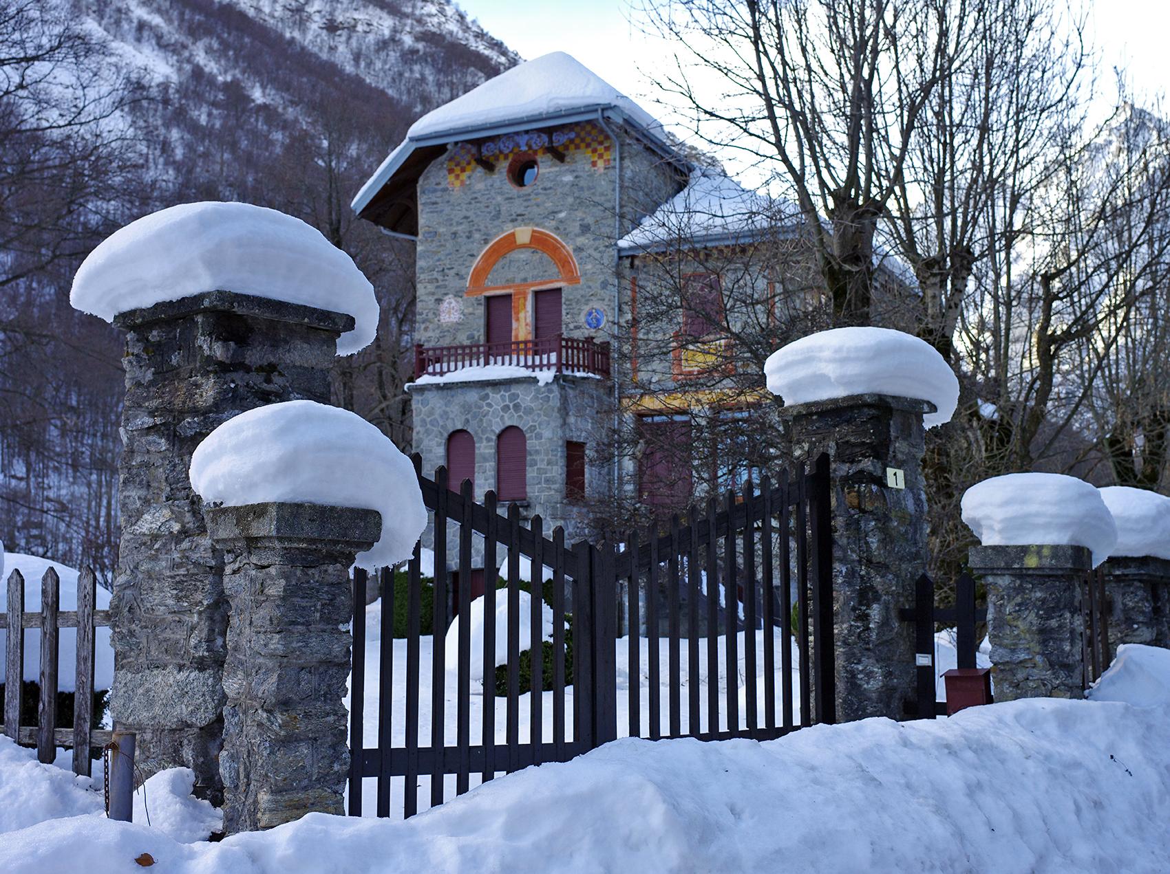Ancient mountain villa