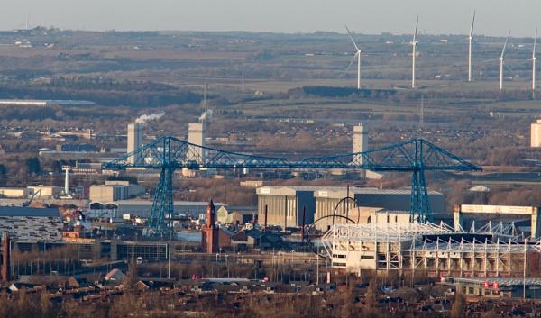 Middlesbrough panorama by oldgreyheron
