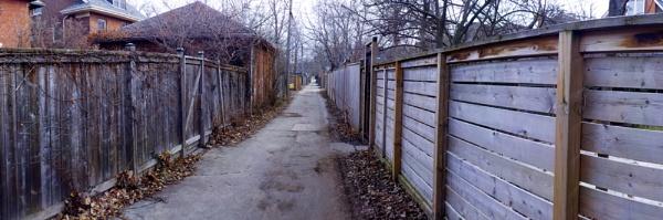 an ALLEY OF LOCKE STREET by TimothyDMorton