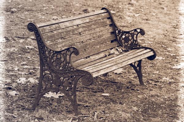 Lonely Bench by Merlin_k