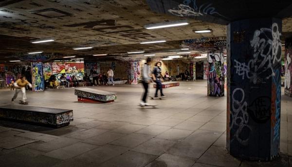 Skateboarding by nclark