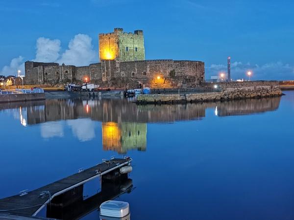 Carrickfergus Castle NI by wisk
