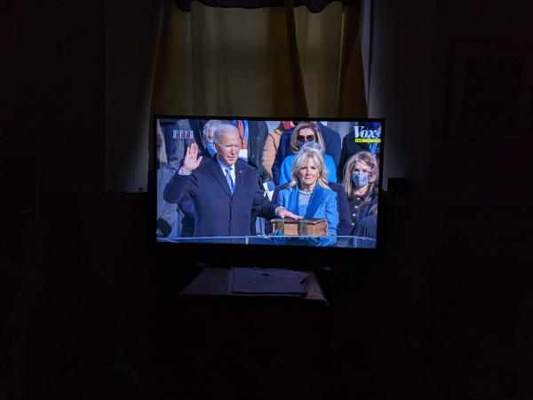 Virtual inauguration day by PCarman