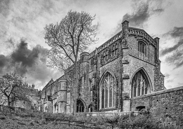 Christchurch Priory Dorset by Agglestone