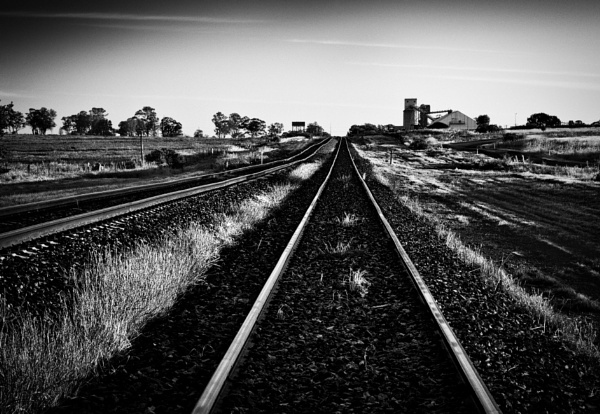 The Old Straight Track, Wirrinya, New South Wales by BobinAus