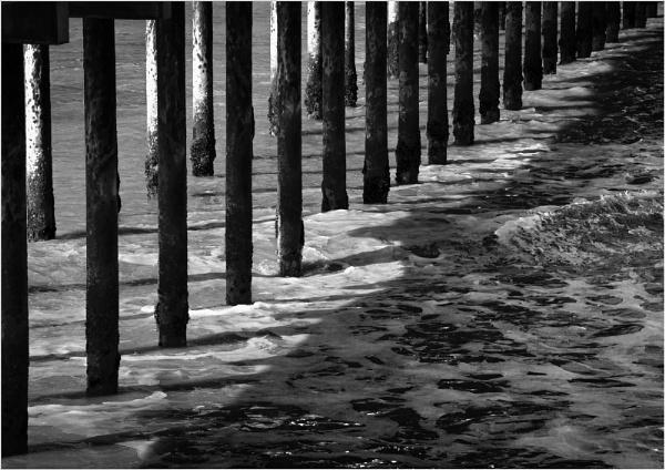 Shadows under the Pier by AlfieK