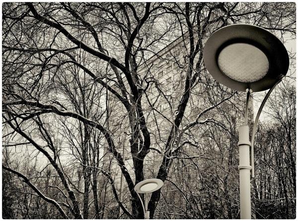 winter neighbourhood by leo_nid