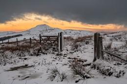 Shutlingsloe in Winter