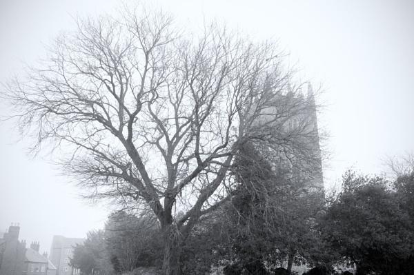 Winter Church 1 by PhotoLinda