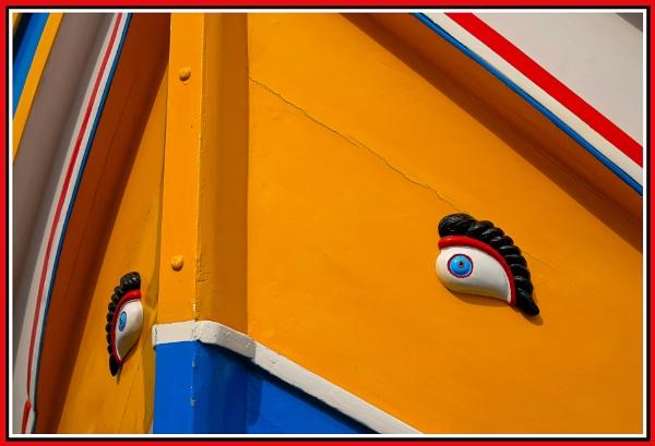 Bow --- MALTESE LUZZU by Edcat55