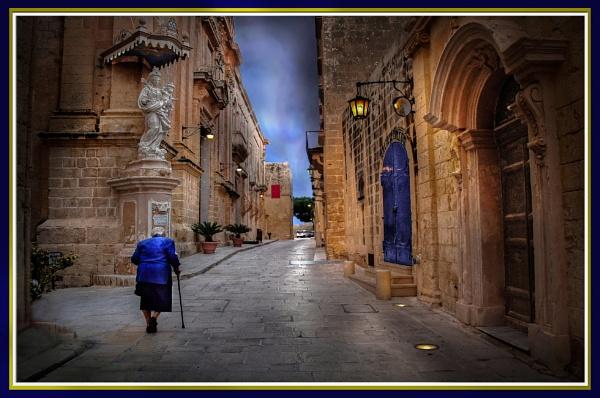 Early Prayer Priority ------ Mdina (the Silent City)  Malta by Edcat55
