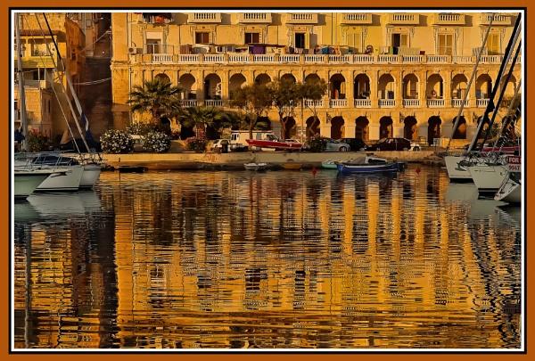 LIQUID GOLD ---- SENGLEA WHARF by Edcat55