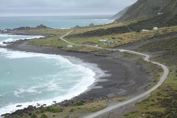 View from Cape Palliser Lighthouse by Nigel_NZ