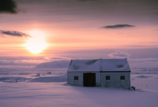 Polar Sunset by JohnDyer