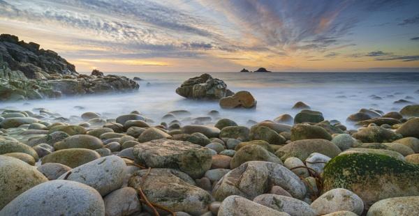 Porth Nanven Sunset by natureslight