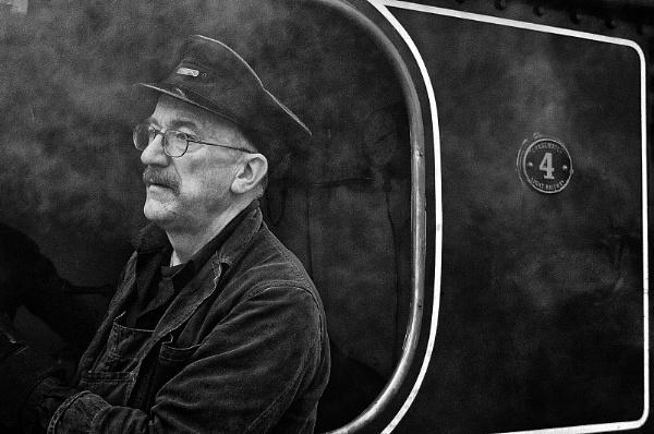 Steam Train Driver by Zydeco_Joe