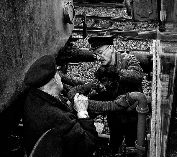 Railway Workers by Zydeco_Joe