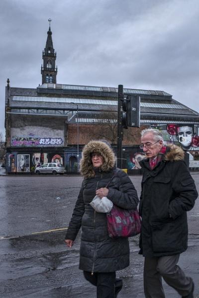 Glasgow, Clyde Street by AndrewAlbert
