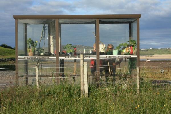 Skerra Bus Shelter by Cowser