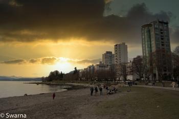 Sunset at English Bay, Vancouver BC III