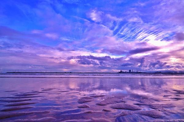 Winter on the Blue Lagoon Hartlepool. by georgiepoolie