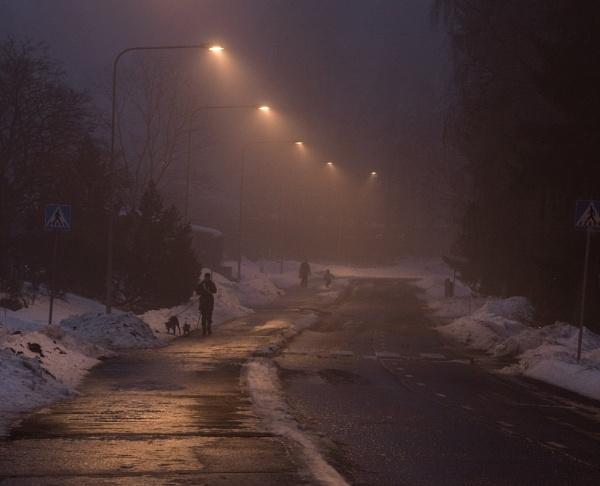 Streetlamps. by Jukka
