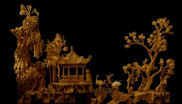 Oriental Carving by Fogey
