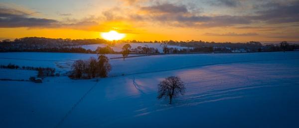 Drone Sunrise by Stevetheroofer