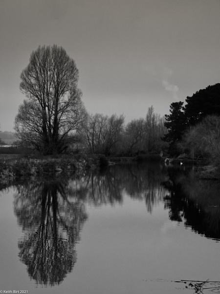 Winter Mirror by MadVillPics
