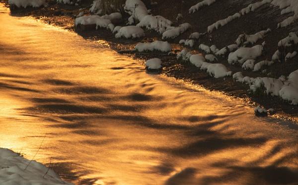 Golden river by LaoCe