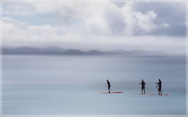 Paddle Boarders by MAK2