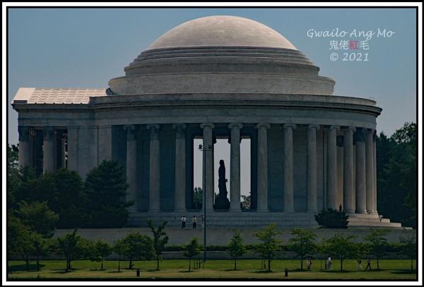 Jefferson Memorial by GwailoAngMo