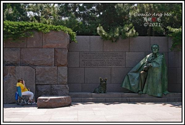 FDR Memorial by GwailoAngMo