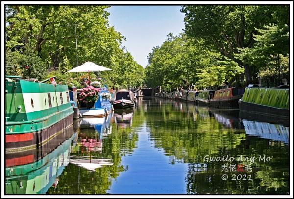 RegentÂ's Canal, Little Venice by GwailoAngMo