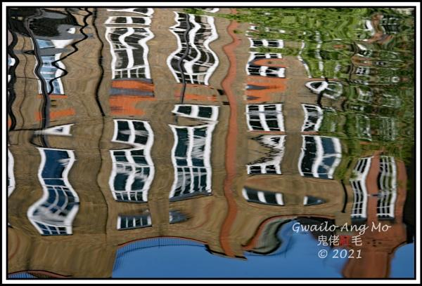 Reflection, Paddington Arm, Grand Union Canal by GwailoAngMo