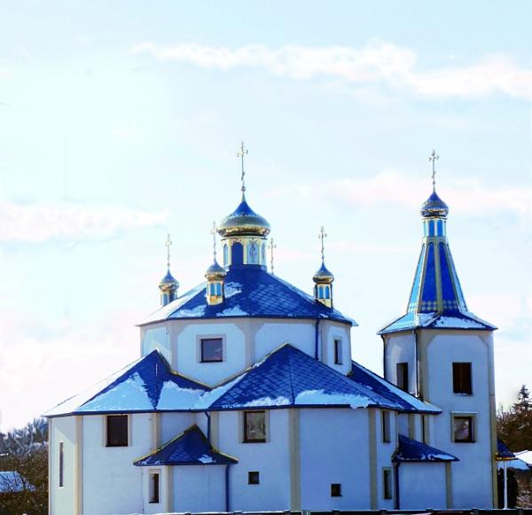 golden church by elousteve