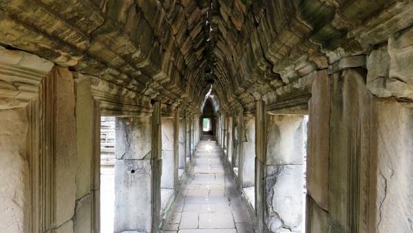 Cambodia Corridor by TheURL