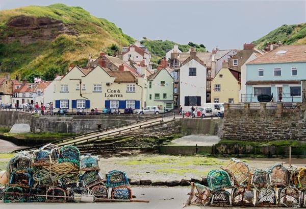 Yorkshire Fishing Village by Shamley
