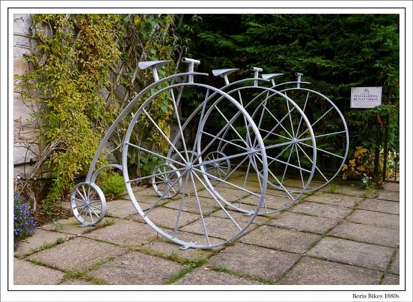 Boris Bikes 1880s by Robert51