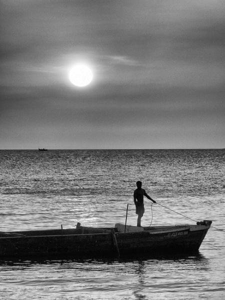 Sun going down ... Stone Town, Zanzibar by chrisdunham