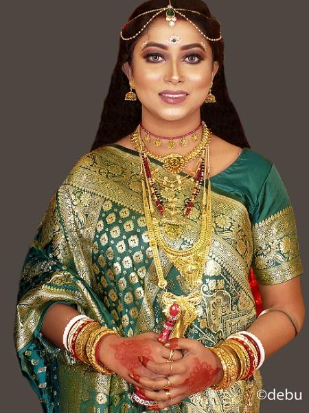 Bengalee Bride..14 by debu